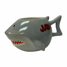 Jaws Shark 3D Sculpted Mug Molded Coffee Ceramic Sculpted Steven Spielberg