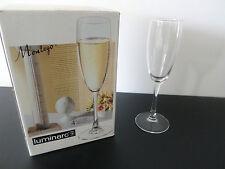 NIB LUMINARC Montego Tall Champagne Flutes -Set of 4