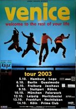 VENICE - 2006 - Tourplakat - In Concert - Welcome to the Rest - Tourposter