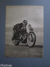 R&L Ex-Mag Advert: Vic Willoughby on a 998cc Vincent at 150 M.P.H