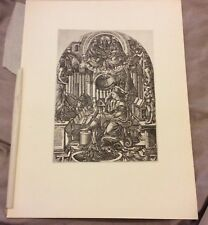 Vintage Book Plate - St John on the Island of Patmos  - Duvet - 1925