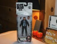 "The Walking Dead TV Series 10 Exclusive 5 "" Rick Grimes McFarlane Toys Clean Box"