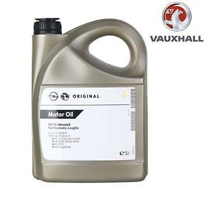 Genuine Vauxhall BMW VW Fully Synth Dexos 2 5W 30 Engine Motor Oil 5L Long Life