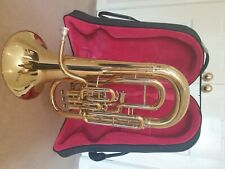 More details for euphonium bb jp274l mk11 4 valve compensating - brass lacquer