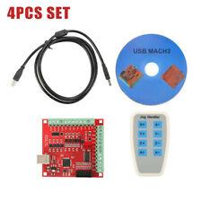 Modulo MACH3 USB Stepper Movimento 4 Axis 100KHz Controller Scheda Portatile