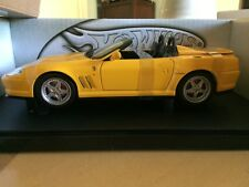 Ferrari 550 Barchetta Spider Pininfarina - 1/18 scale in Yellow by Hotwheels