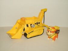 Nickelodeon Paw Patrol Rubble's Bulldozer Vehicle With Rubble Figure