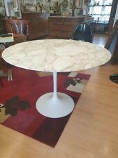 Authentique Table Tulipe De Saarinen Edition Ancienne Cachet Knoll 107 Cm