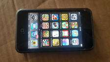 Apple iPod touch 8 GB - 1st Generation (MA079B) cracked screen but works