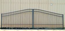 Custom Built Driveway Entry Gate 16 Ft Wide Dual Swing. Fencing, Handrails.Beds