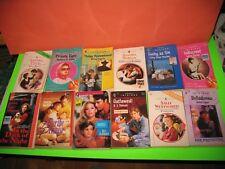 Lot of 12 Harlequin Romance Books  + Silhouette book 1990's
