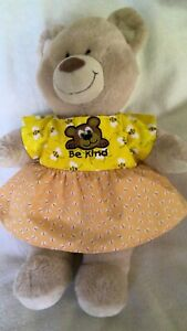 BAB Teddy clothes to fit girls Build a bear 40cm long inc Pumpkin Patch handmade