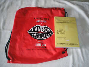 A FAN BOY & GOTH GIRL TOTE BAG with a FREE BOOK