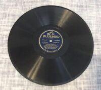 Wingy Manone- 1942 BLUEBIRD Records 78 RPM- 0801 PRICE CUT !!