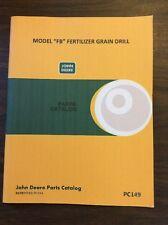 John Deere FB Fertilizer Grain Drill Parts Catalog Manual