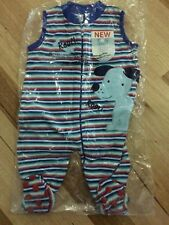 NEW Snugtime Boys SUMMER Sleeping Bag/Sleep Suit  Size 0