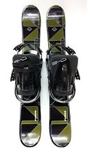 SNOWBLADES,FiveForty Panzer SkiBlades,90CM, w/ new FiveForty snowboard bindings