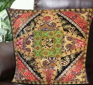 """33% OFF 30"""" PATCHWORK ETHNIC HOME DÉCOR SARI THROW ACCENT CUSHION PILLOW COVER"""