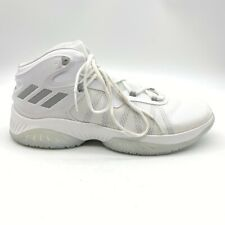 Adidas Mens Explosive Bounce Basketball Sneakers White Mid Top BY4467 13.5 New