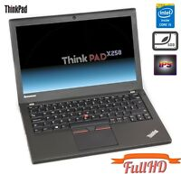 "Lenovo ThinkPad X250 i5-5300u 8GB 256GB SSD 12,5"" IPS FullHD 1920x1080 WEBCAM"