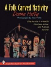 FOLK CARVED NATIVITY - NEW PAPERBACK BOOK