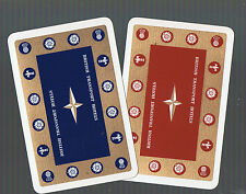 Playing Swap Cards 2 VINT  DECO  DELUXE  BRITISH TRANSPORT  HOTELS  BREWERY  K32