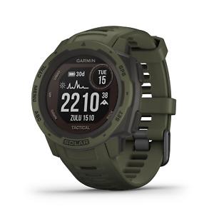 Garmin Instinct Solar Premium GPS Smartwatch Tactical Edition