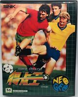 NEO GEO AES Soccer Super Side Kicks Tokutenou 1 SNK Japanese Ver