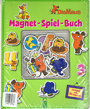 Magnet-Spiel-Buch - Die Maus - Lernspaß mit 16 Magneten  -  von Claudia Wolfrath