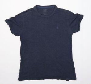 Fat Face Mens Blue    T-Shirt Size S