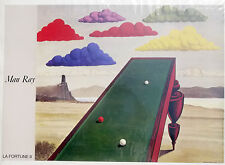 (PRL) 1987 MAN RAY LA FORTUNE VINTAGE AFFICHE ART PRINT ARTE POSTER ILLUSTRAZ.