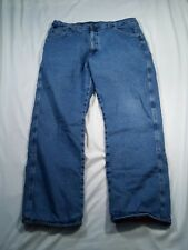 Wrangler Rugged Wear Jeans Thermal Flannel Lined Men's 38 by 29