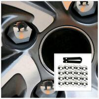 Universal Chrome Car Wheel Nut Caps Hub Screw Cover Lug Nur Cover Accessories