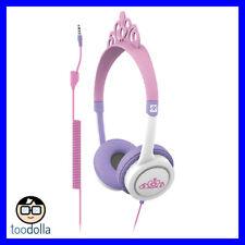 iFrogz Little Rockers volume limited headphones for kids/children, Tiara Pink