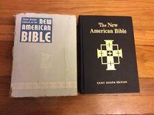 St Joseph Edition Of The New American Bible Large Type Illustrated Catholic 1970