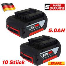 10XFür Bosch Akku Ersatzakku GBA 18V 5,0 Ah GSR GSB 18 Volt BAT618 BAT609 BAT620