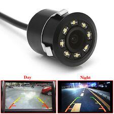 12V 170° Car Backup Rear View Reverse Parking 8 LED Night Vision HD Camera