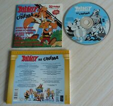 RARE CD ALBUM ASTERIX AU CINEMA 33 TITRES COMPILATION 1996