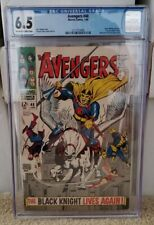 Avengers 48 CGC 6.5 1st Appearance Dane Whitman Black Knight Eternals Clean 🔥🔥