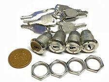 4 Sets Key Switch Off On Lock Metal Toggle Security Ks 02 B10