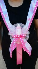 1 Baby Shower MOM TO BE SASH,Pink/Girl, Ribbon favors, Party,Mommy,niña,Corsage