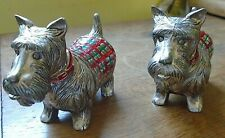 SCOTTISH TERRIER METAL SALT & PEPPER POTS 600g