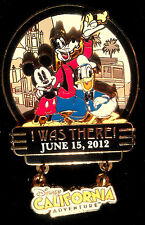 Disney California Adventure Grand Re-Opening I Was There Fab 3 2012 DCA pin