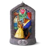2016 Hallmark Disney Beauty and the Beast  25th Anniversary Musical Ornament NIB