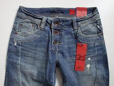 QS s. OLIVER  Jeans  CATIE  Stretch  Röhrenjeans  Blau  Gr. 34 L32  Neu