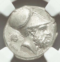 Ca. 340-330 BC Ancient Greece Lucania Metapontum AR stater NGC VF