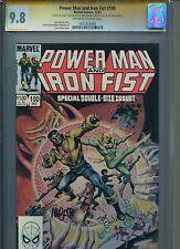 Power Man and Iron Fist 100 CGC SS 9.8 3x Sig Ernie Chan Mike Mignola Joe Staton