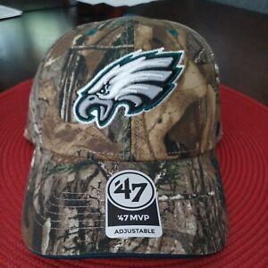 NFL PHILADELPHIA EAGLES Adult Cap Hat CAMOUFLAGE New '47 Brand NFL