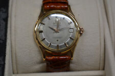 OMEGA VINTAGE WATCH CONSTELLATION PIE PAN 18K Rose GOLD AUTOMATIC CAL.561 MENS