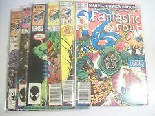 Lot Of 6 Fantastic Four #246, 258, 271, 275, 279, 292